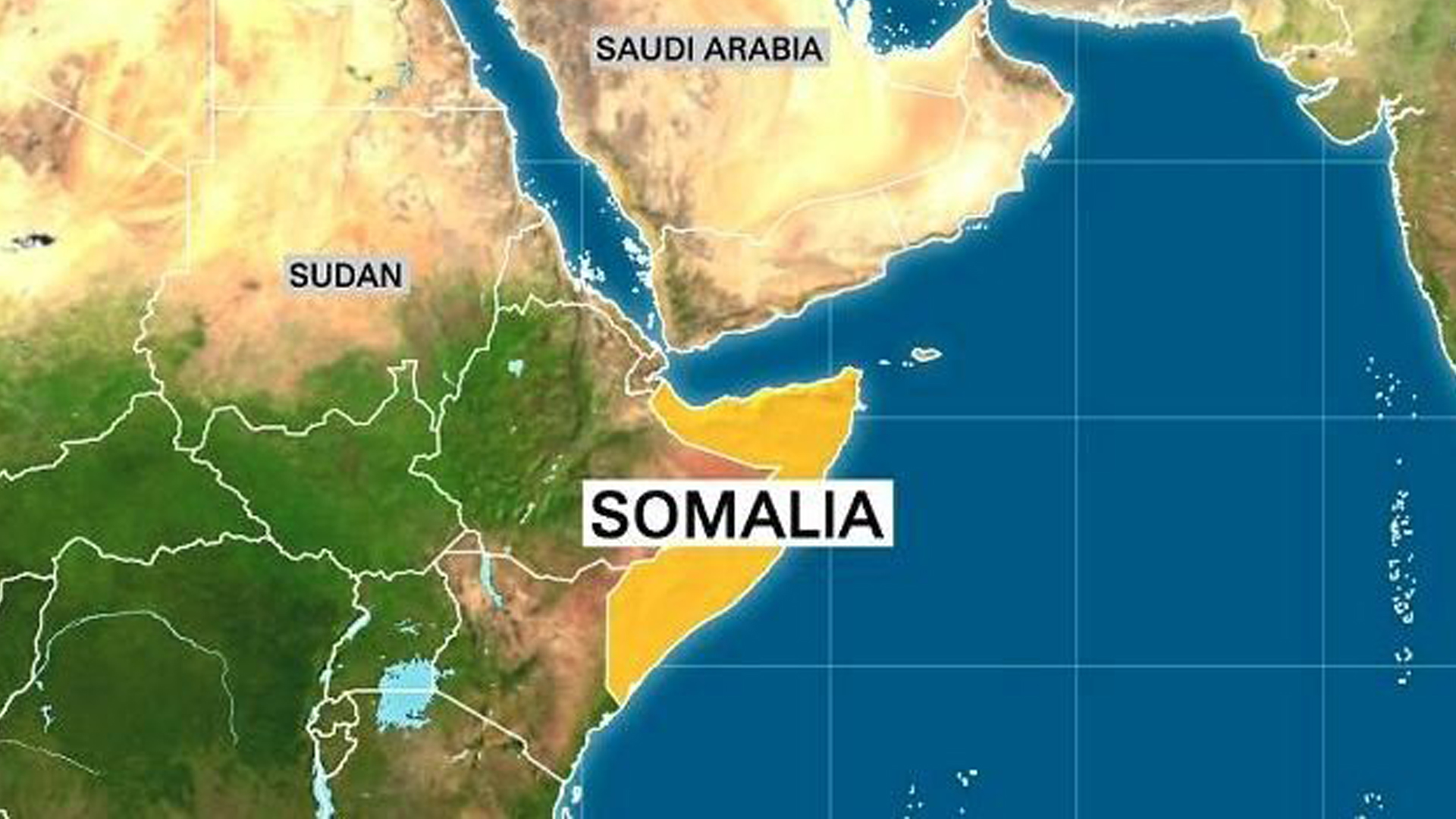 An image depicts the country of Somalia. (Credit: CNN)
