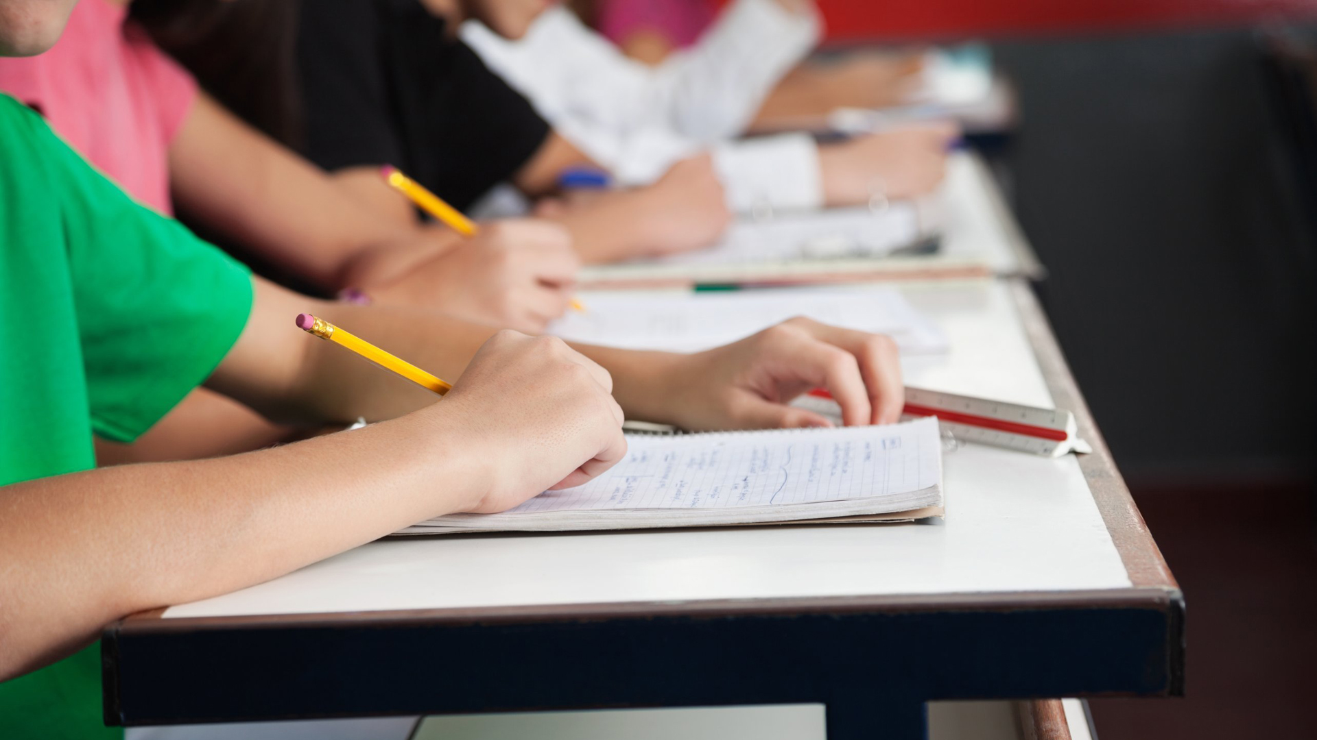 Students are seen in a classroom in this file photo. (Credit: Shutterstock)