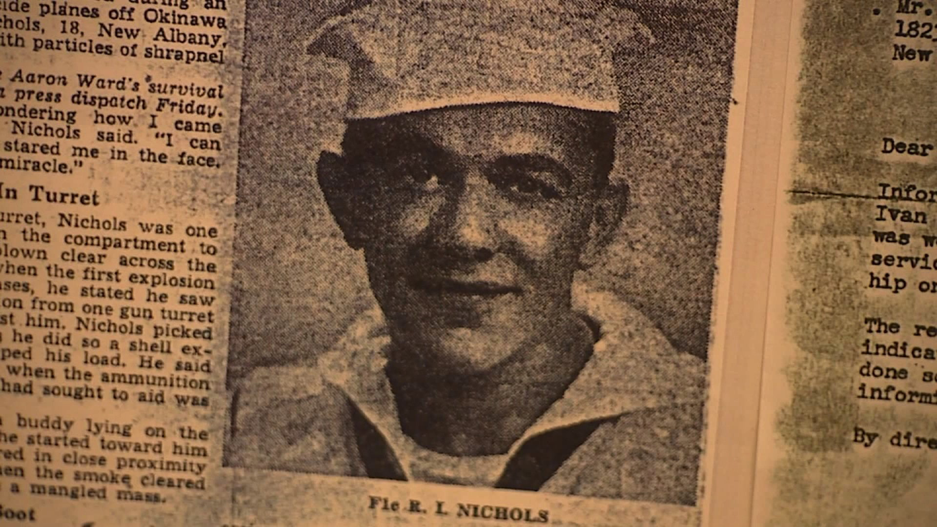 DNA testing revealed World War II veteran Robert Ivan Nichols stole an 8-year-old's identity. But no one knows why he did it. (Credit: WEWS, US Marshals)