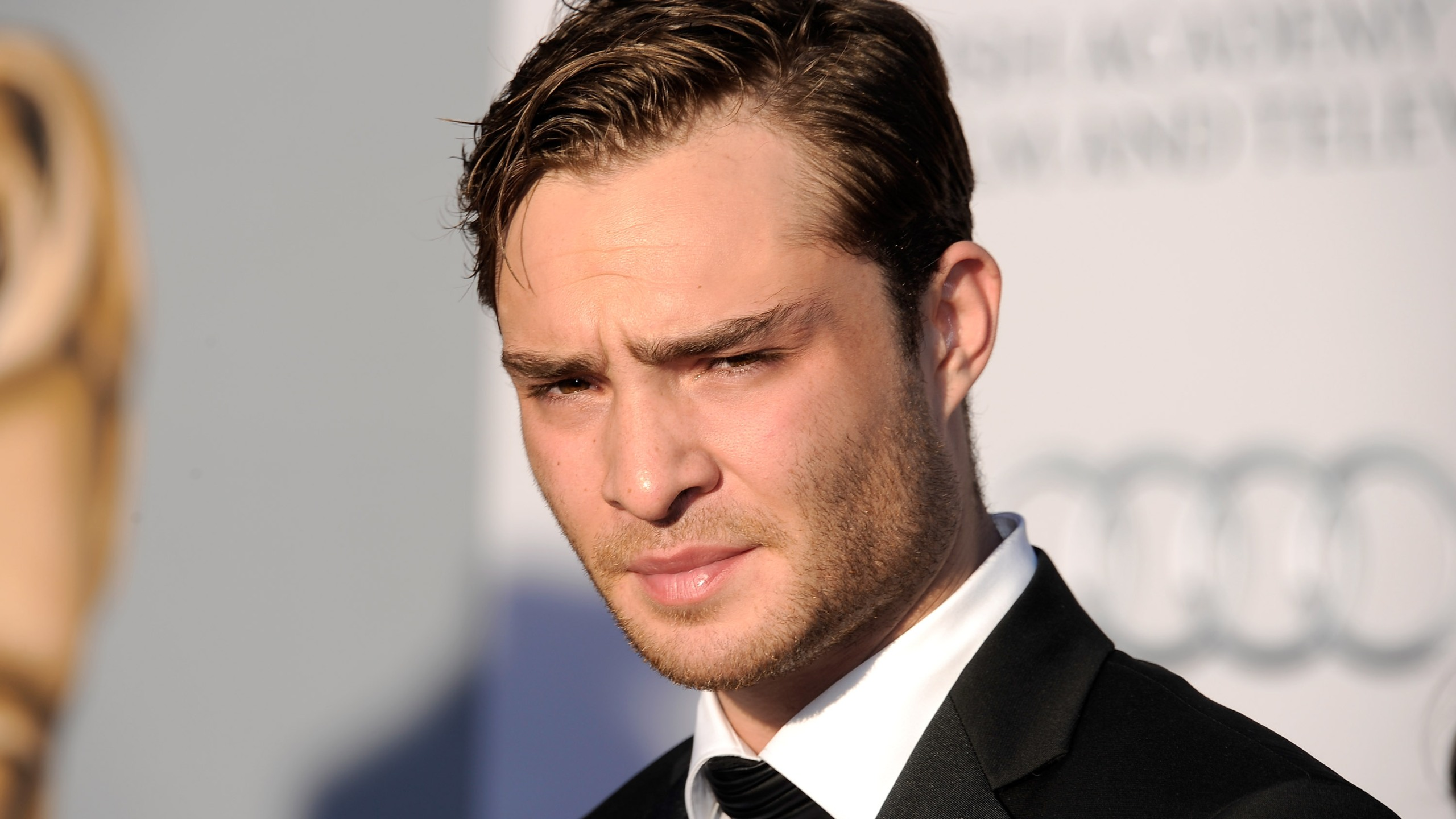 Actor Ed Westwick arrives at the BAFTA Brits To Watch event held at the Belasco Theatre on July 9, 2011, in Los Angeles. (Credit: Kevork Djansezian/Getty Images)