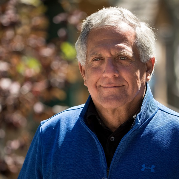 Leslie 'Les' Moonves, president and chief executive officer of CBS Corporation, attends the third day of the annual Allen & Company Sun Valley Conference, July 13, 2017, in Sun Valley, Idaho. (Credit: Drew Angerer/Getty Images)