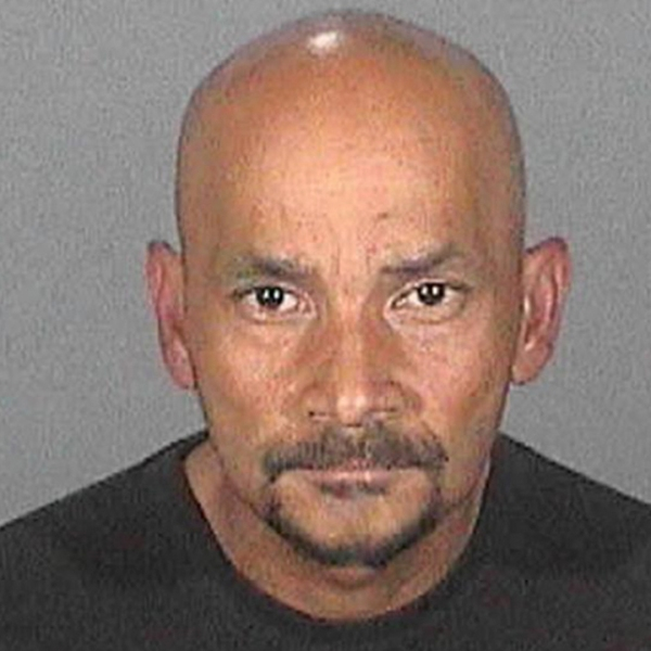 Rico Sanchez is shown in a booking photo released by the San Bernardino Police Department on July 13, 2018.