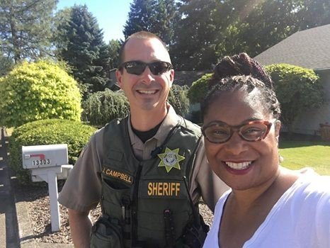 This picture is from Oregon state Rep. Janelle Bynum'€™s Facebook Page.