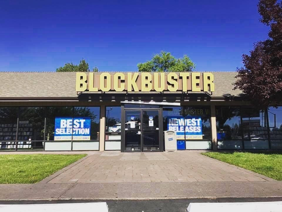 The last Blockbuster in Bend, Oregon, is seen in this undated photo. (Credit: Chase Millsap via CNN)