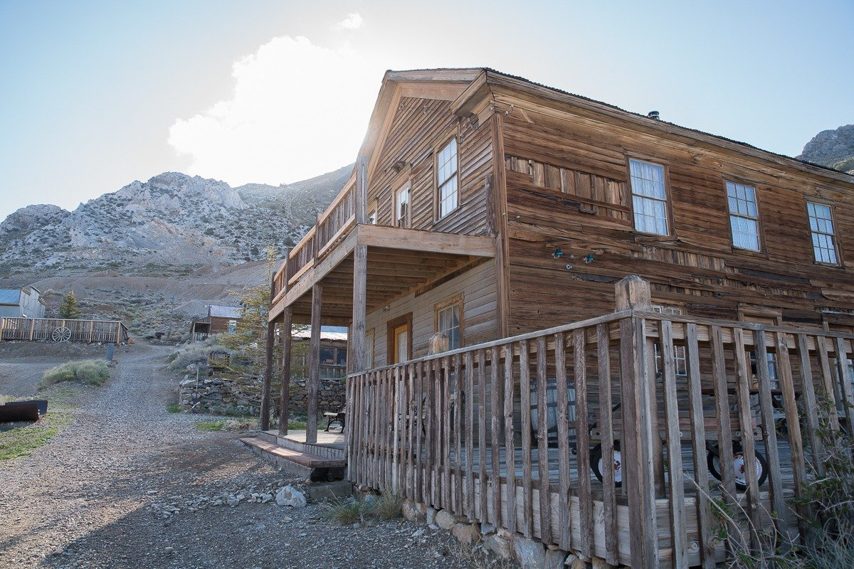 A little over a month after a 19th century ghost town in California called Cerro Gordo went on sale, Brent Underwood bought it for $1.4 million, real estate agent Jake Rasmuson said. (Credit: Bishop Real Estate)