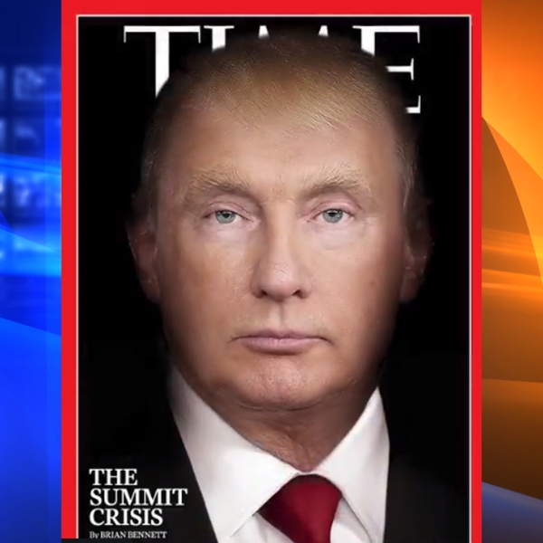 TIME magazine shared this cover on their Twitter on July 19, 2018.