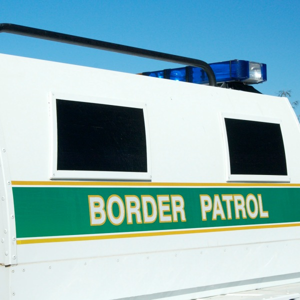 Border patrol vehicle in San Diego is seen in a file photo. (Credit: iStock / Getty Images Plus)