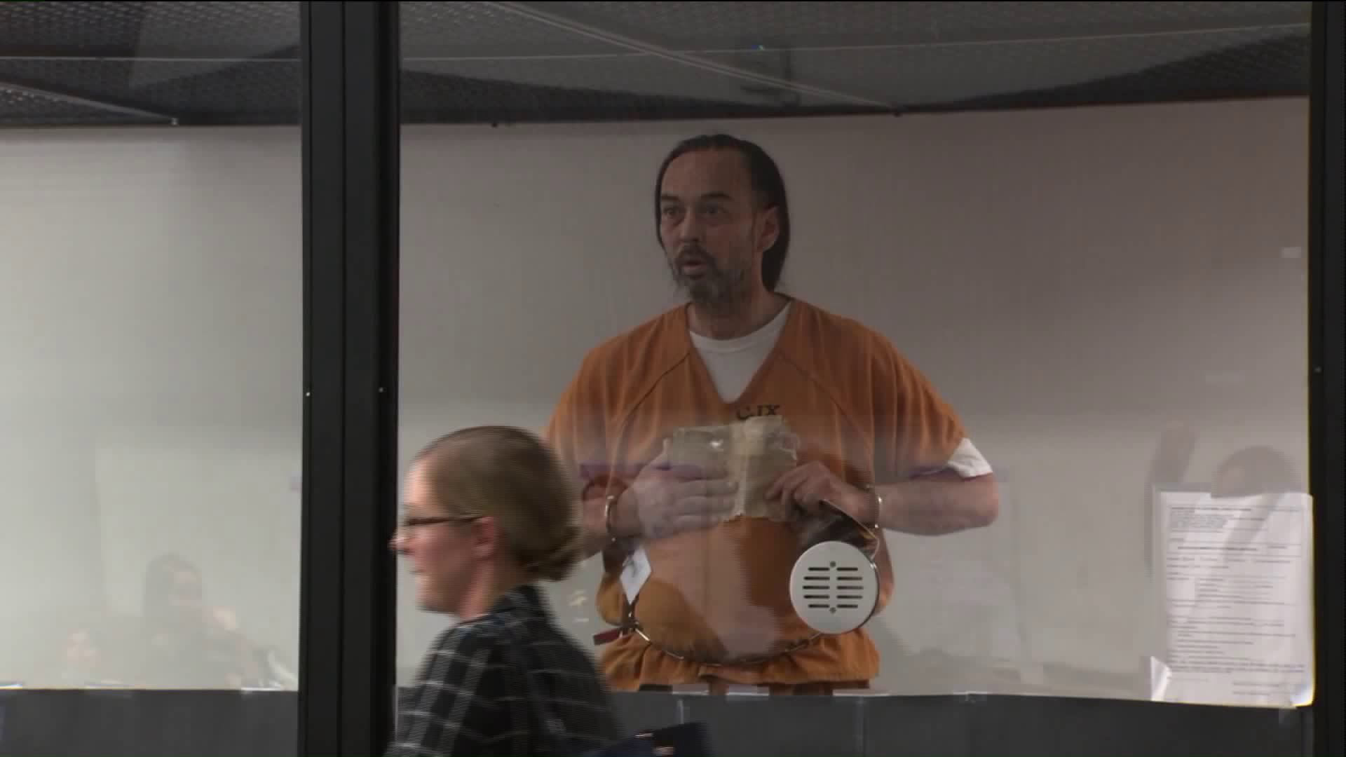 Forrest Gordon Clark appeared in court on Aug. 17, 2018. (Credit: Pool)