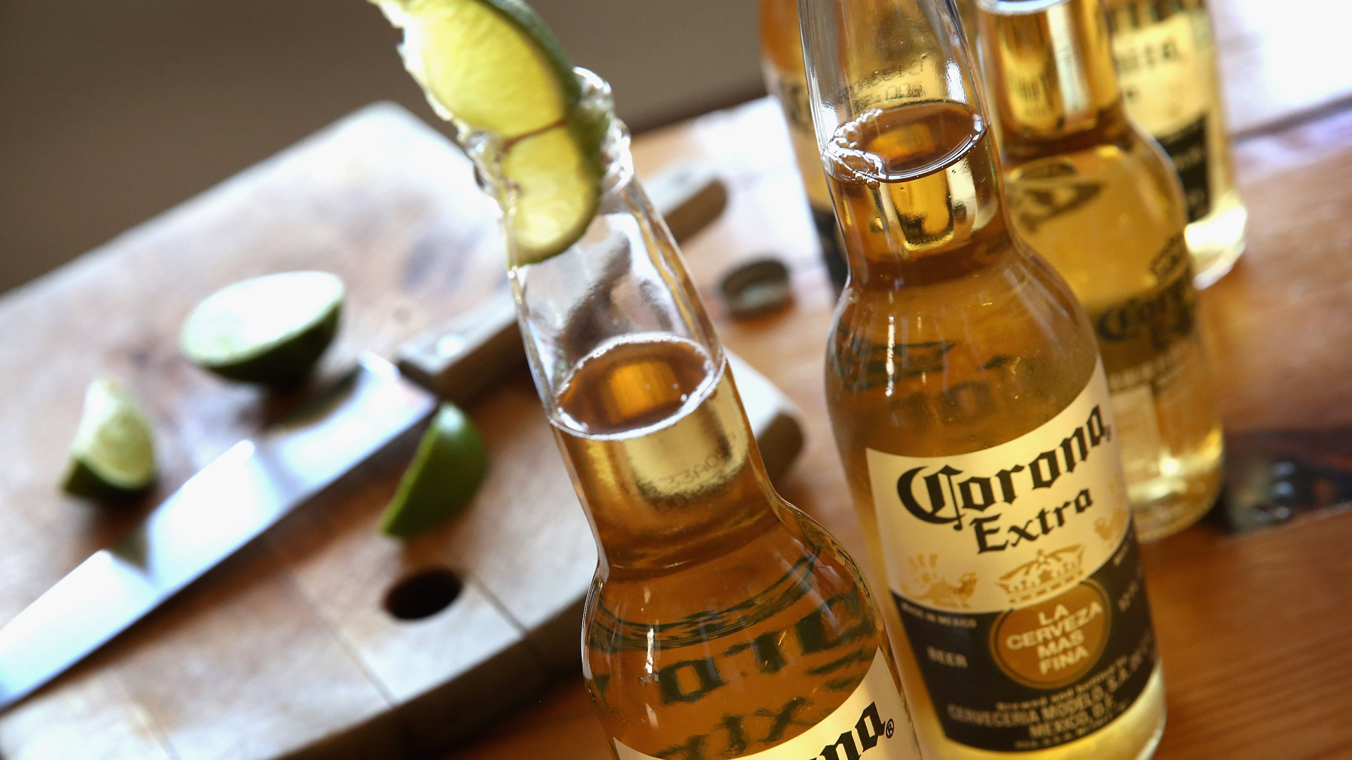 Corona beer is seen in a file photo. (Credit: Scott Olson/Getty Images)