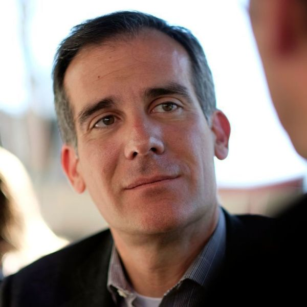 L.A. Mayor Eric Garcetti is shown in an undated photo. (Credit: Los Angeles Times)