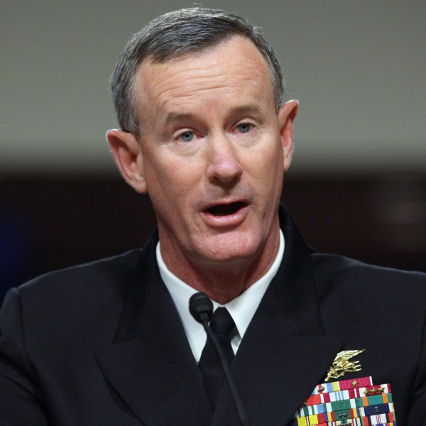 William McRaven testifies during his confirmation hearing before the Senate Armed Services Committee on Capitol Hill on June 28, 2011 in Washington, D.C. (Credit: Chip Somodevilla/Getty Images)
