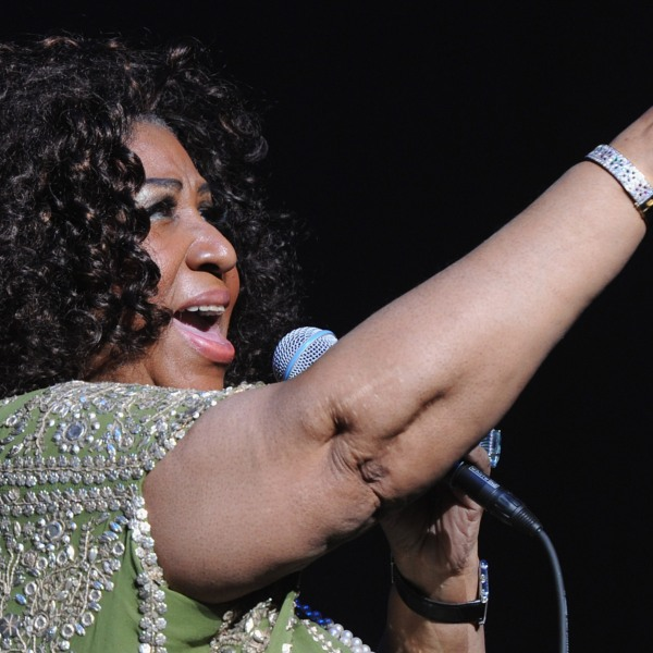 Aretha Franklin performs at The Fox Theatre in Atlanta, Georgia, on March 5, 2012. (Credit: Rick Diamond / Getty Images)