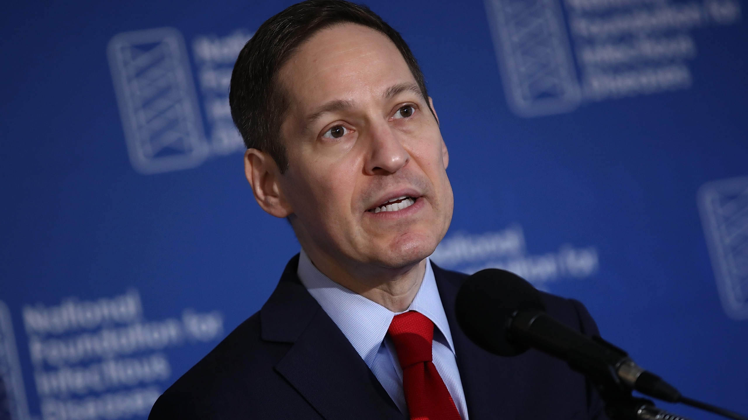 Dr. Tom Frieden, director of the Centers for Disease Control and Prevention, delivers remarks during a press conference in Washington, D.C. on Sept. 29, 2016. (Credit: Win McNamee/Getty Images)
