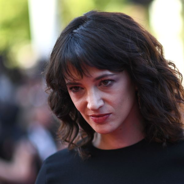 "Asia Argento poses as she arrives on May 19, 2018 for the closing ceremony and the screening of the film ""The Man Who Killed Don Quixote"" at the 71st edition of the Cannes Film Festival in Cannes, France. (Credit: ANNE-CHRISTINE POUJOULAT/AFP/Getty Images)"