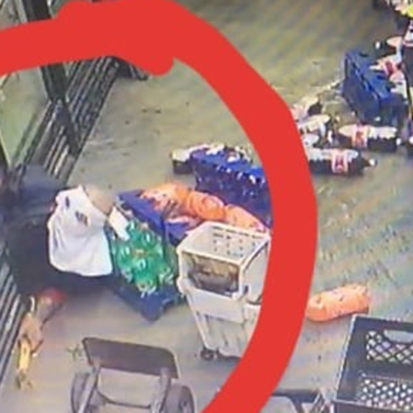 A photo posted to Facebook by La Verne police on Aug. 20, 2018, shows a man who authorities say tunneled his way into a convenience store in the city in order to burglarize it earlier that same day.