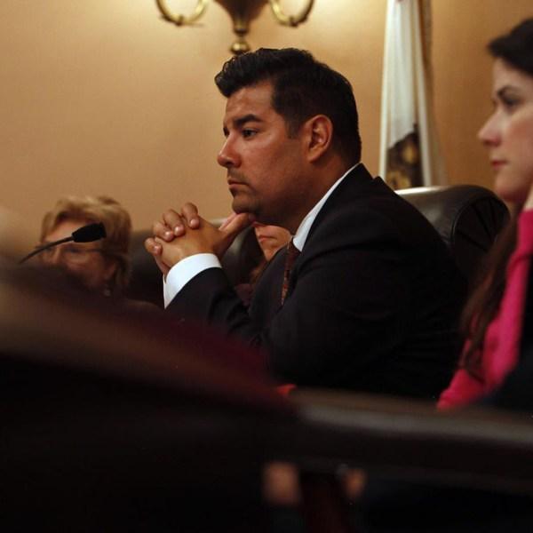 Sen. Ricardo Lara, D-Bell Gardens, is seen in a file photo. (Credit: Katie Falkenberg / Los Angeles Times)