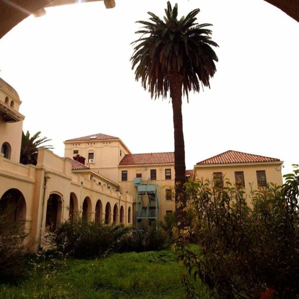 The West Los Angeles Veterans Affairs campus, where a parking lot operator defrauded the VA out of $13 million, is seen in an undated photo. (Credit: Genaro Molina / Los Angeles Times)