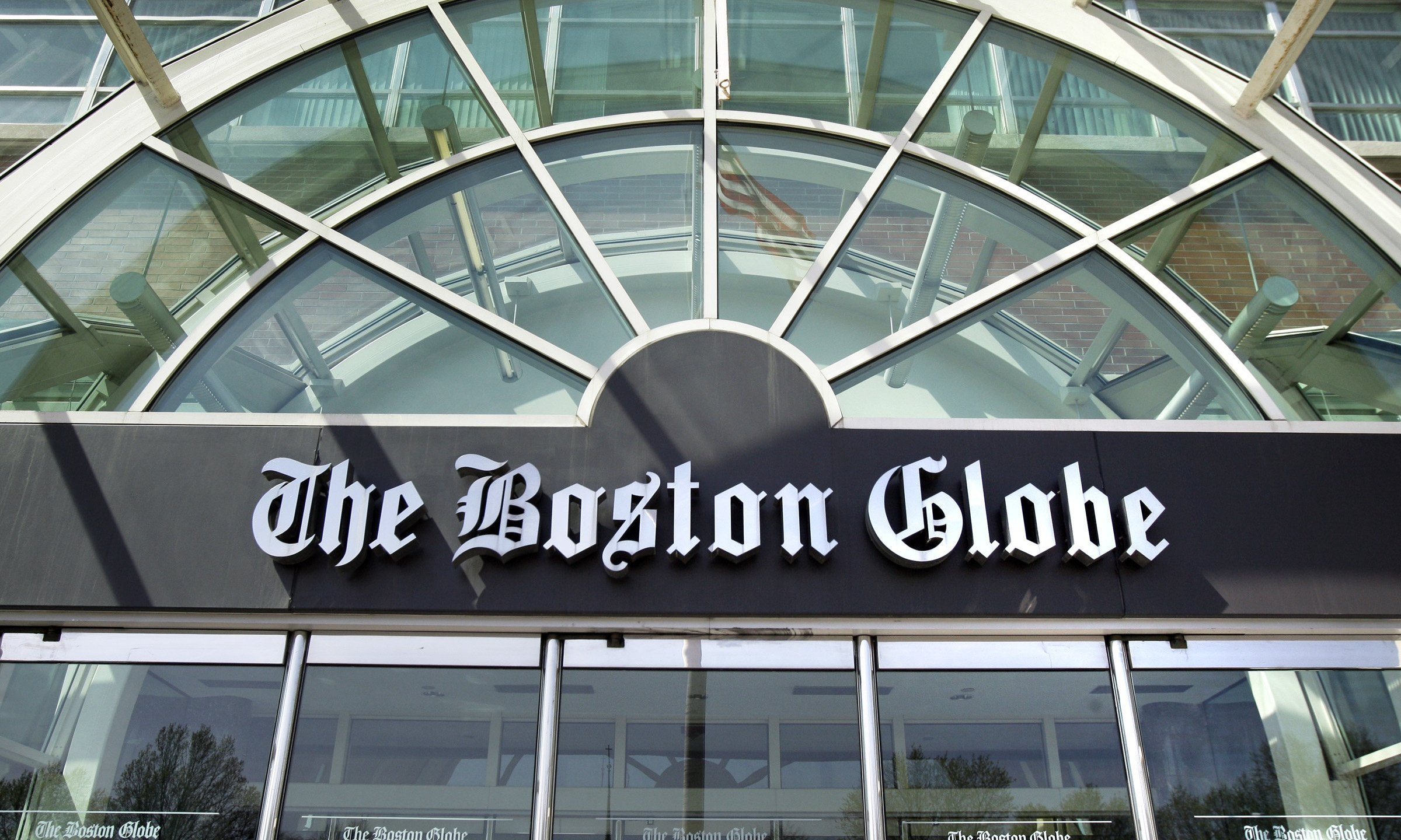 """The Boston Globe has been contacting newspaper editorial boards and proposing a """"coordinated response"""" to President Trump's escalating """"enemy of the people"""" rhetoric. (Credit: AP via CNN)"""