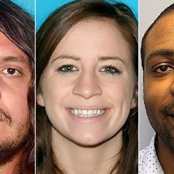 Nashville police say the shooting deaths of (from left) Bartley Teal, Jaime Sarrantonio, and Kendall Rice may be related. The photos seen are undated. (Credit: Nashville Police Department via CNN)