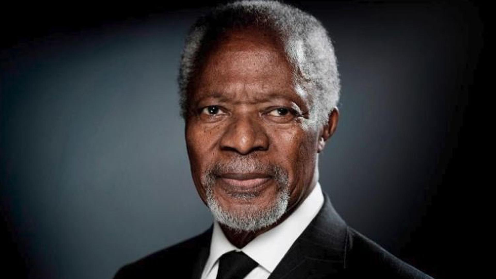 Former U.N. Secretary-General Kofi Annan is seen in an undated photo. (Credit: AFP/Getty Images)
