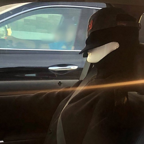 A dummy used by a motorist in Contra Costa County to use the carpool lane is seen in this photo tweeted by CHP on Sept. 13, 2018.