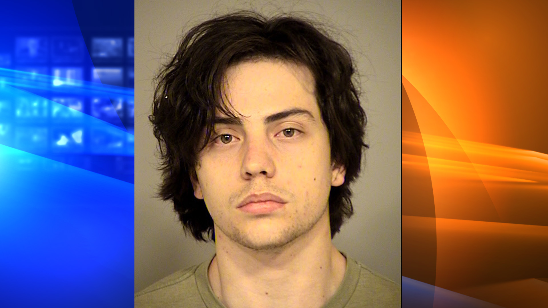 Donovan Ruiz is seen in a booking photo provided by the Ventura County Sheriff's Department on Sept. 28, 2018.