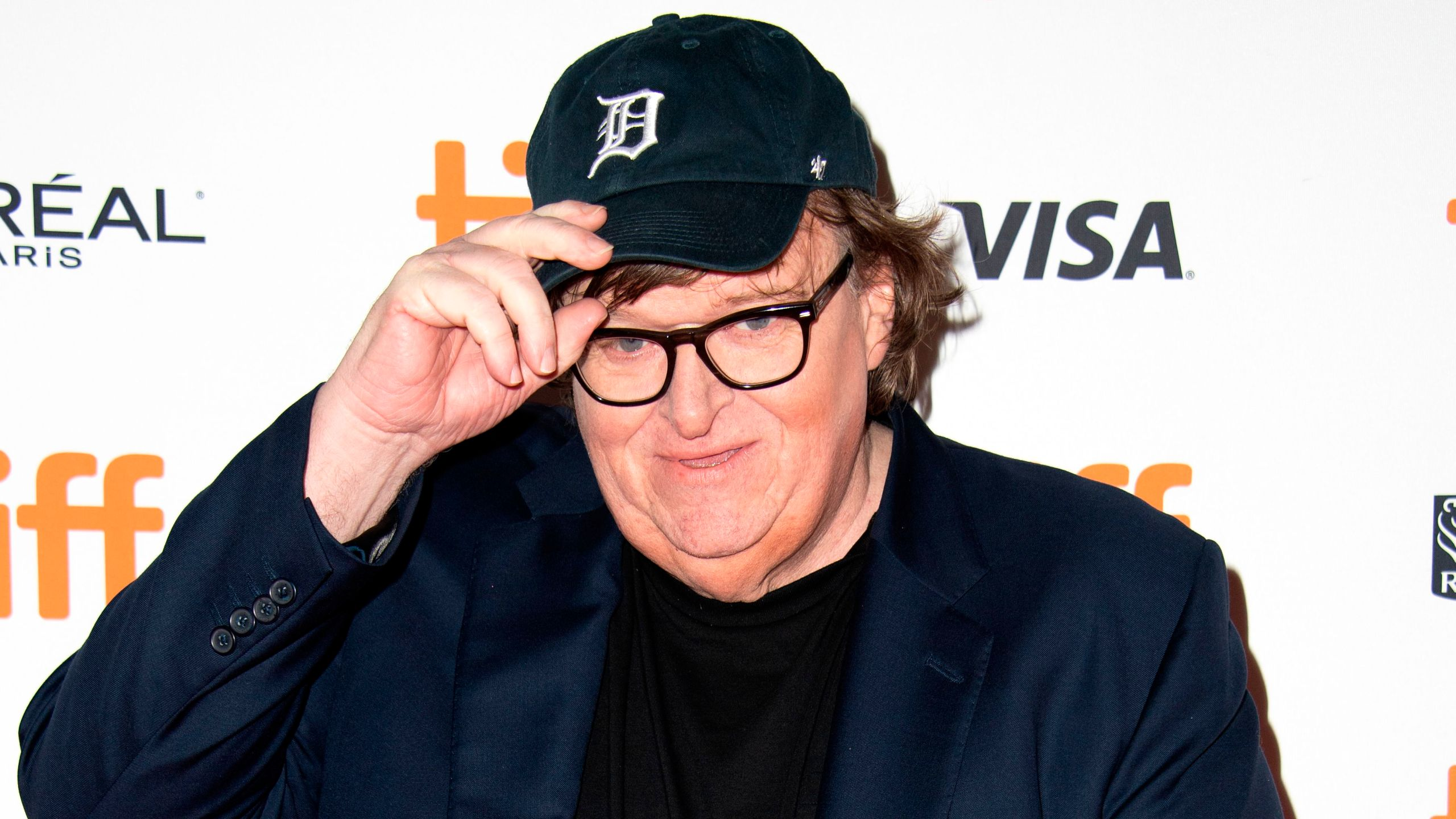 "Michael Moore attends the premiere of his documentary ""Fahrenheit 11/9"" during the Toronto International Film Festival on Sept. 6, 2018 in Toronto, Ontario, Canada. (Credit: VALERIE MACON/AFP/Getty Images)"