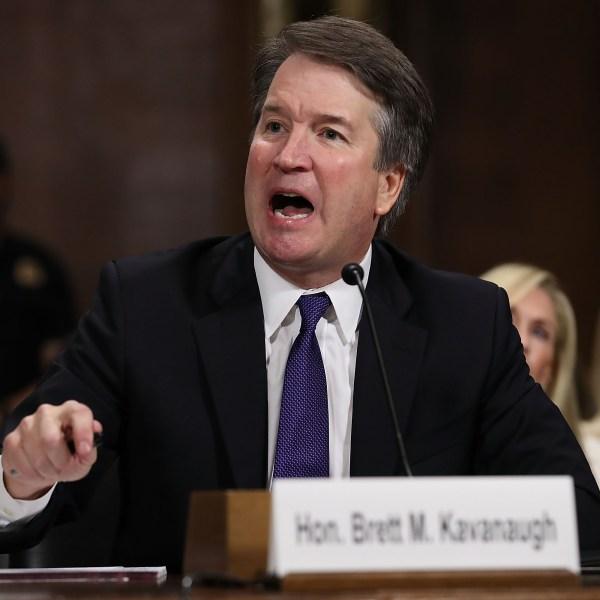 SCOTUS Nominee Brett Kavanaugh testifies before the Senate Judiciary Committee on Sept. 27, 2018. (Credit: CNN)