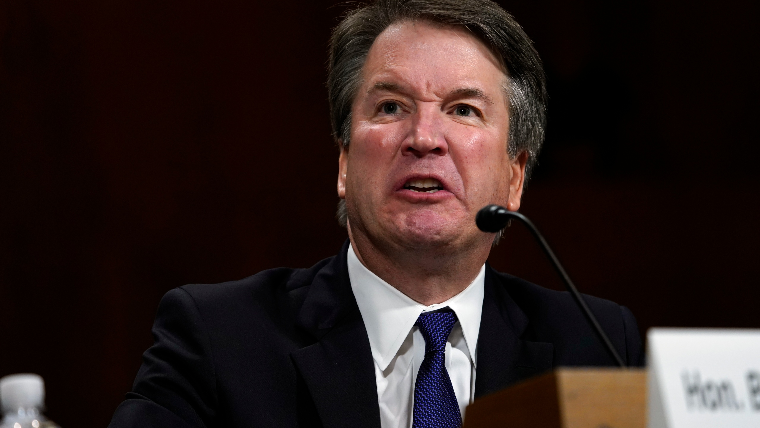 Supreme Court nominee Brett Kavanaugh testifies before the Senate Judiciary Committee on Capitol Hill on Sept. 27, 2018 in Washington, D.C. (Credit: Andrew Harnik - Pool/Getty Images)