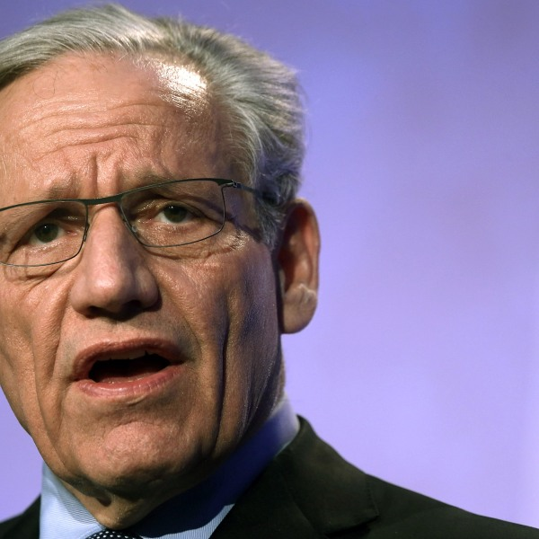 Bob Woodward, speaks during the annual conference of the National Association of Counties on March 4, 2013. (Credit: Alex Wong/Getty Images)
