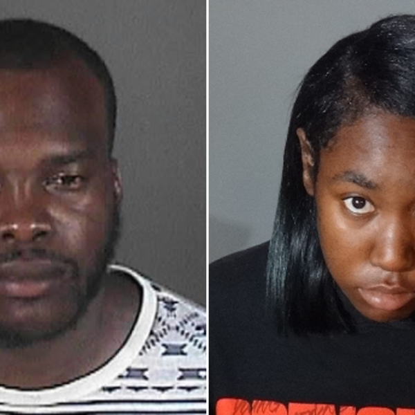 Ronnie Brown, 33, is seen in a booking photo from 2015 and 23-year-old Monique Wilson is seen in a current booking photo released by Hawthorne police on Sept. 4, 2018.