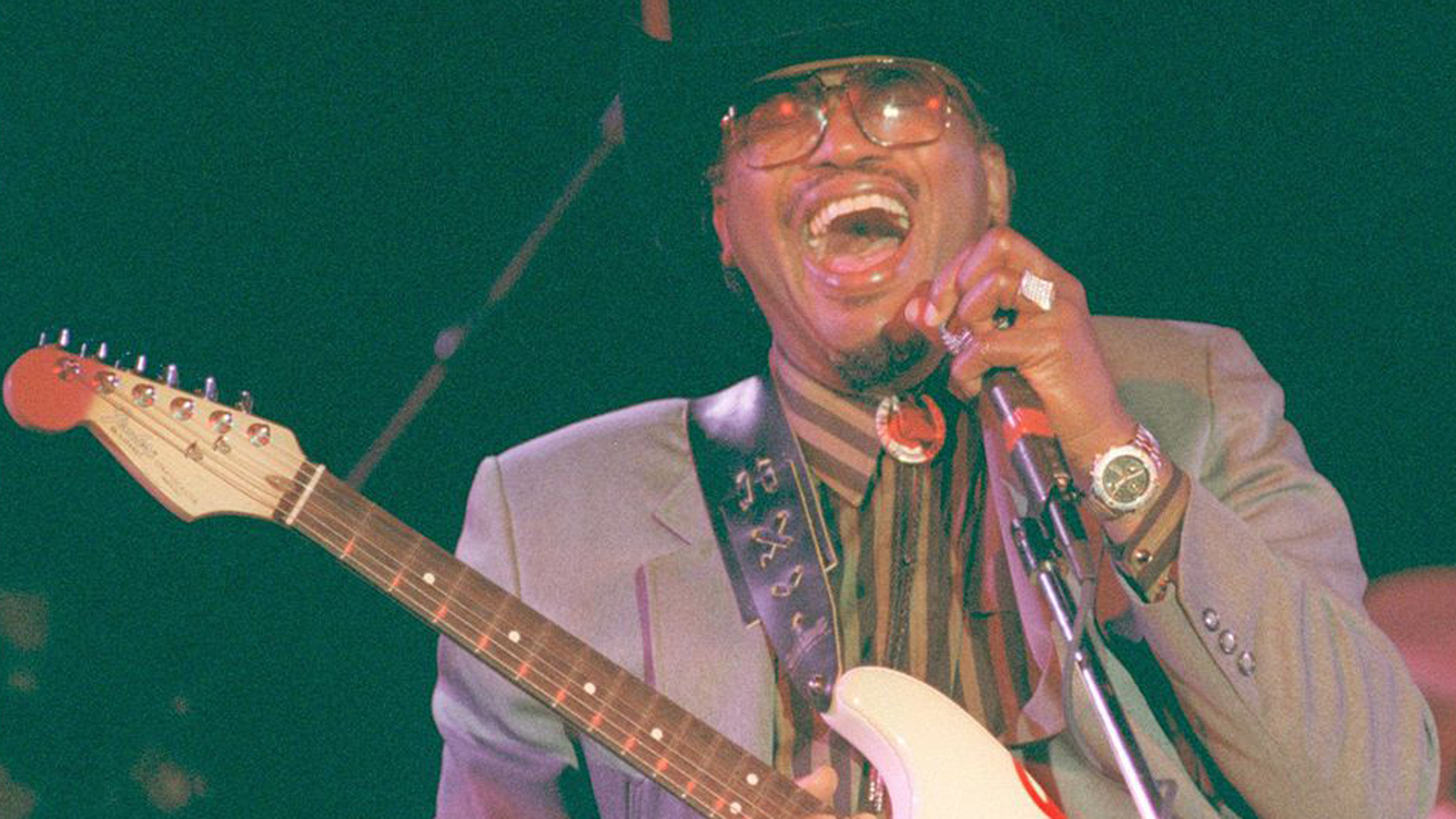 Otis Rush is seen in an undated photo. (Credit: Los Angeles Times)