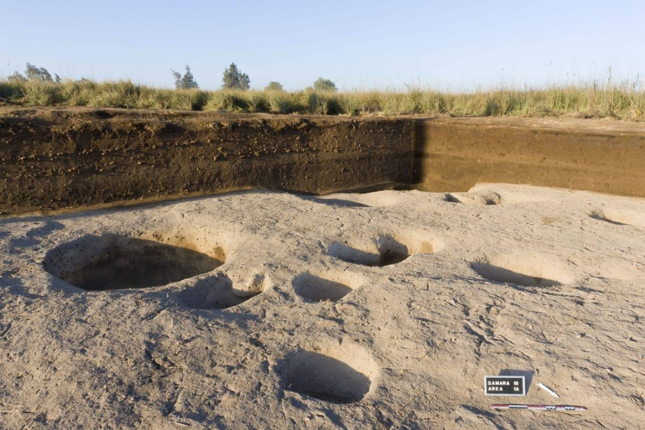 Archaeologists believe they have unearthed one of Egypt's oldest-known settlements in the Nile Delta, dating back some 7,000 years to the Neolithic era. (Credit: Egyptian Ministry of Antiquities)