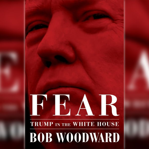 "Bob Woodward's forthcoming book ""Fear: Trump In the White House"" includes a wealth of new evidence that will make Trump's fitness a subject of discussion again. (Credit: Simon & Schuster via CNN Wire)"