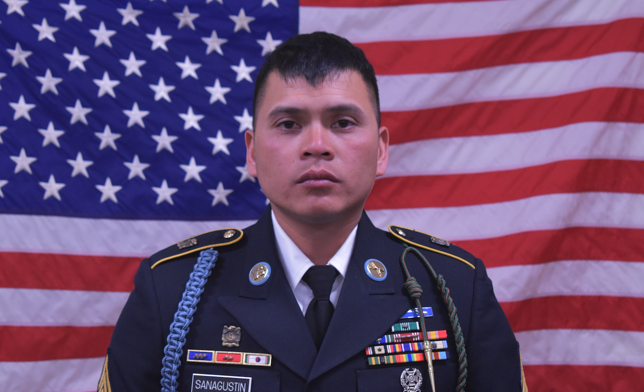 Sgt. Diobanjo S. Sanagustin, a SoCal man and U.S. soldier who died while on duty in Afghanistan on Sept. 5, 2018, is pictured. (Credit: U.S. Department of Defense)
