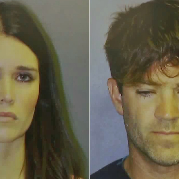 Cerissa Laura Riley (left) and Grant William Robicheaux (right) are shown in photos released by the Orange County District Attorney's Office on Sept. 18, 2018.