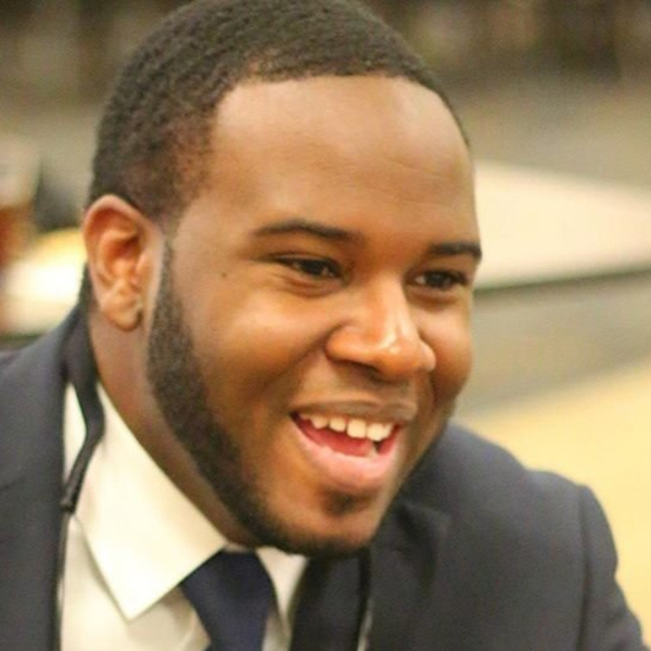 Botham Shem Jean is seen in a photo from his Facebook page that was distributed by CNN.