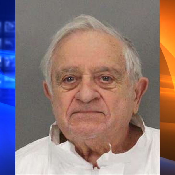 Anthony Aiello is seen in a booking photo released by San Jose police.