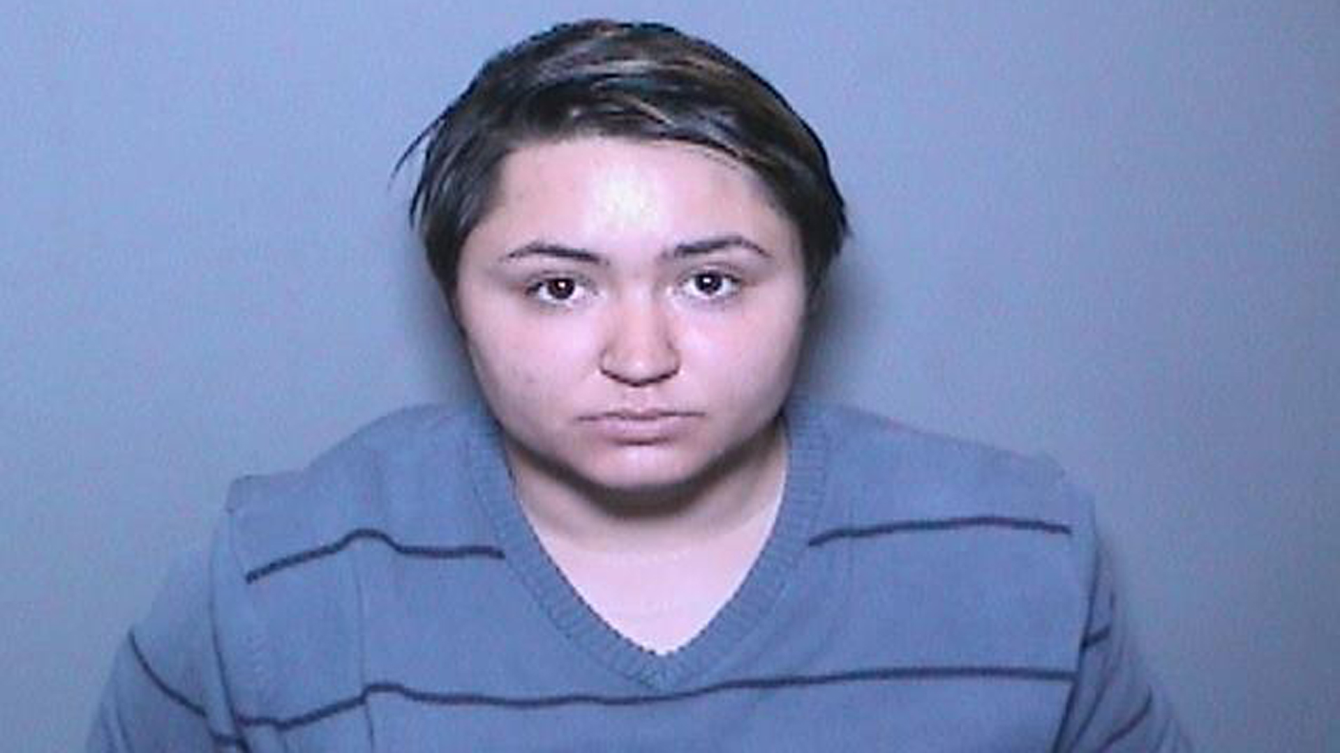 Aliza Giglio is seen in a booking photo released by the Orange County District Attorney Office.