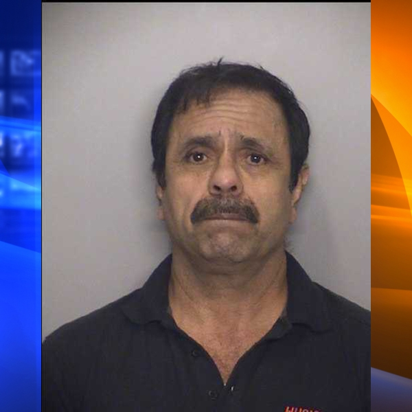 Antonio German Armas, 61, of Rialto, pictured in a booking photo following his arrest by the Fontana Police Department on Oct. 24, 2018.