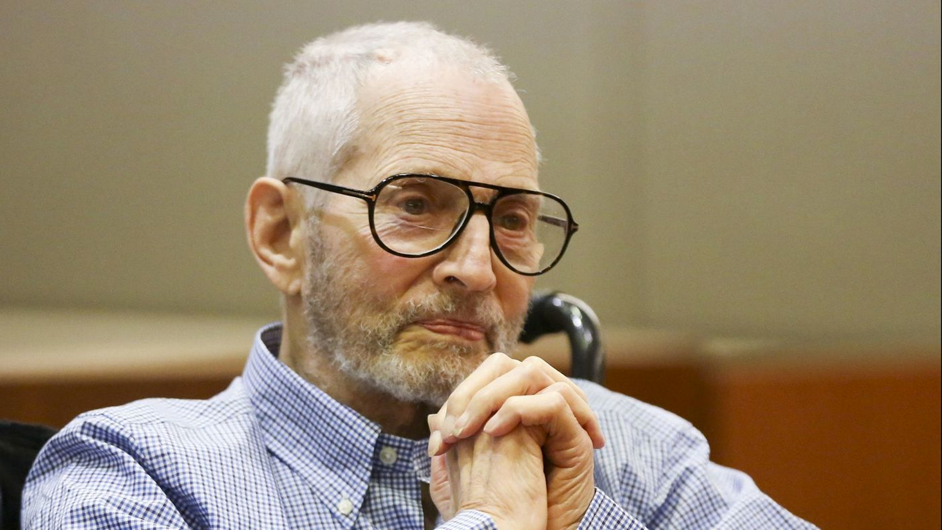 New York real estate scion Robert Durst, shown at an earlier hearing, is expected to return to court Monday for a preliminary hearing. (Credit: Mark Boster / Los Angeles Times)