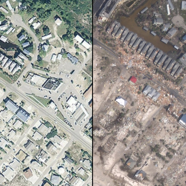 Images provided by NOAA via CNN.