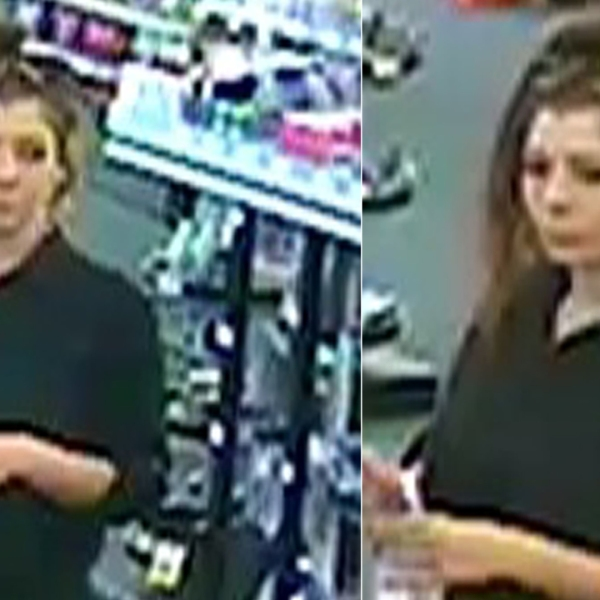 A woman suspected of defrauding Coinstar machines in Thousand Oaks is seen in photos released by police on Oct. 12, 2018.