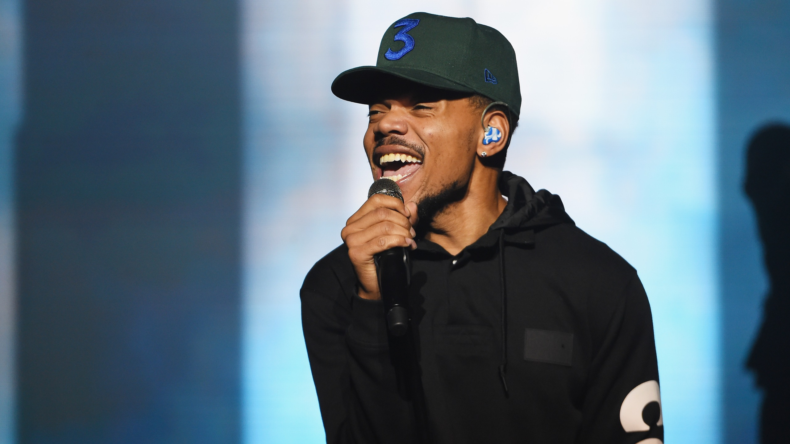 Chance the Rapper performs onstage in Brooklyn on Sept. 29, 2018. (Credit: Nicholas Hunt/Getty Images for Spotify)