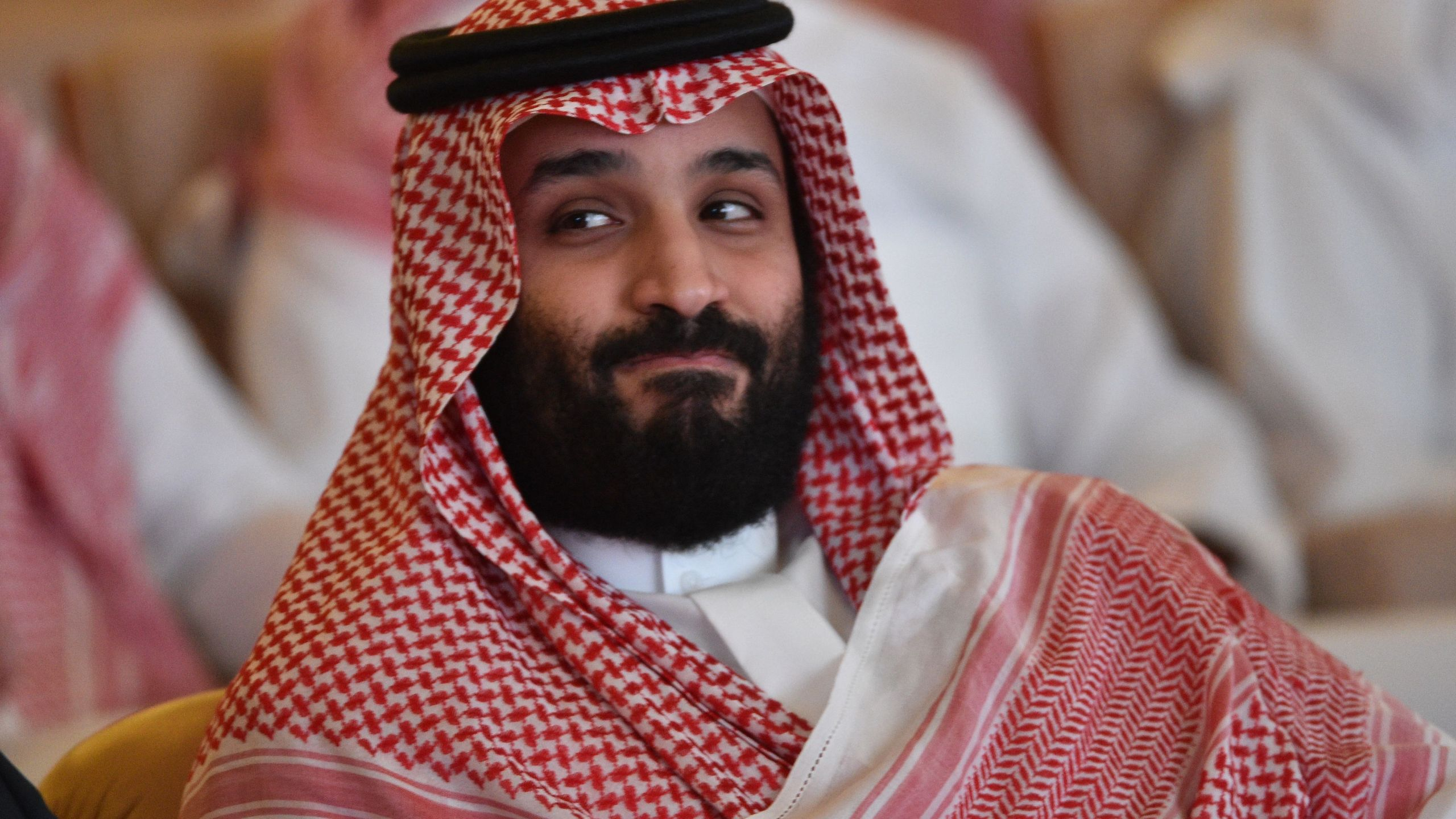 Saudi Crown Prince Mohammed bin Salman attends the Future Investment Initiative conference in Riyadh on Oct. 23, 2018. (Credit: FAYEZ NURELDINE/AFP/Getty Images)