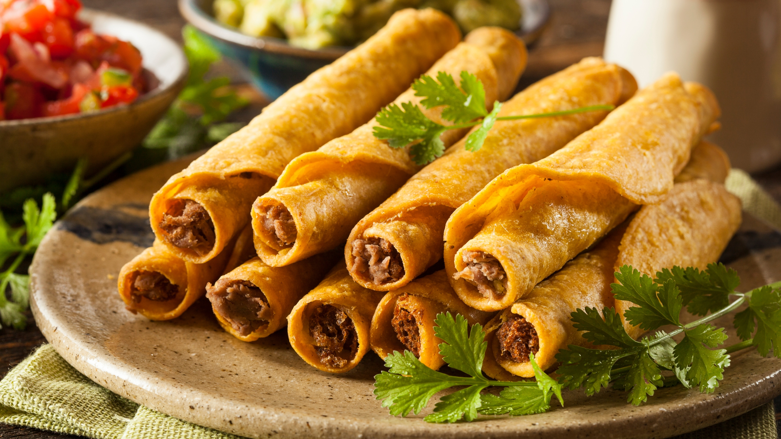 Taquitos are seen in a file photo. (Credit: iStock / Getty Image Plus)