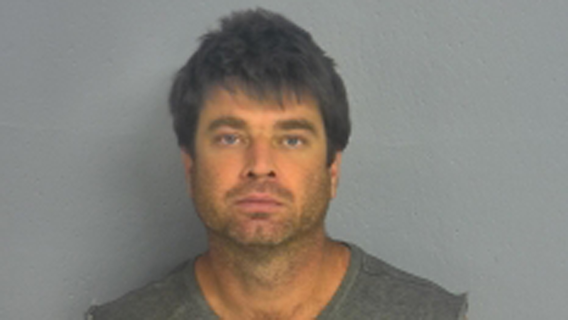 Jason Hawkins is seen in a booking photo released by the Greene County Sheriff's Office.
