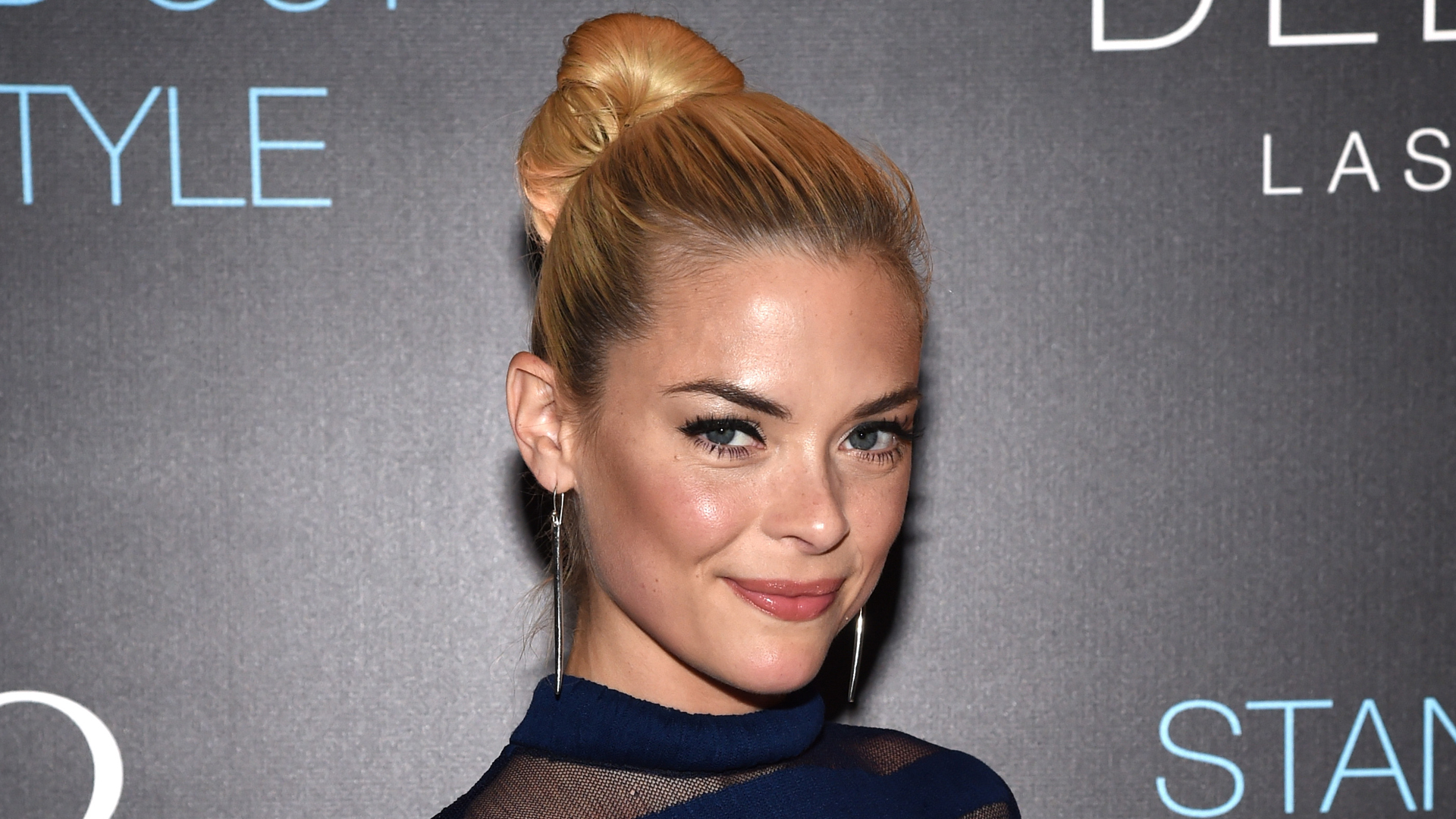 Actress Jaime King attends the Delano Las Vegas grand opening party with Jaime King, Charlotte Ronson, Sam Ronson and MAGIC! at Delano Las Vegas at the Mandalay Bay Resort and Casino on Sept. 18, 2014, in Las Vegas. (Credit: Ethan Miller/Getty Images for Delano Las Vegas)
