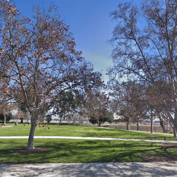 Devonwood Park in Mission Hills is shown in a Street View image from Google Maps.