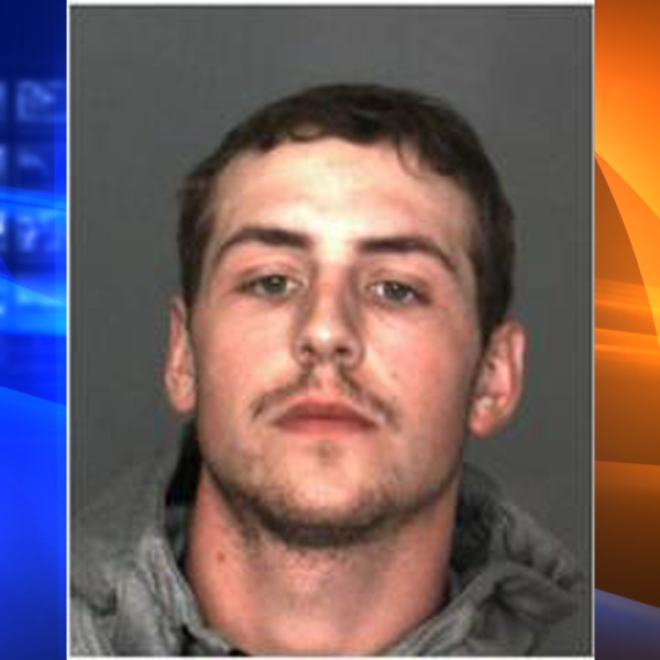 Andrew Peele, 20, of Yucaipa, pictured in a booking photo released by the San Bernardino County Sheriff's Department following his arrest on Oct. 27, 2018.
